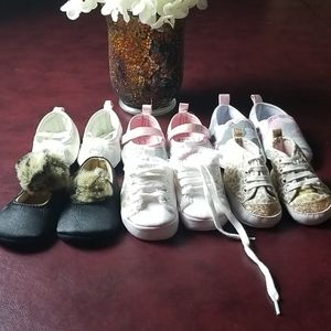 Variety of New Born Shoes